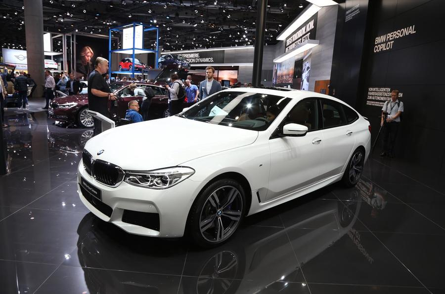 Bmw 6 Series Gt Makes Its Debut At Frankfurt Motor Show Autocar