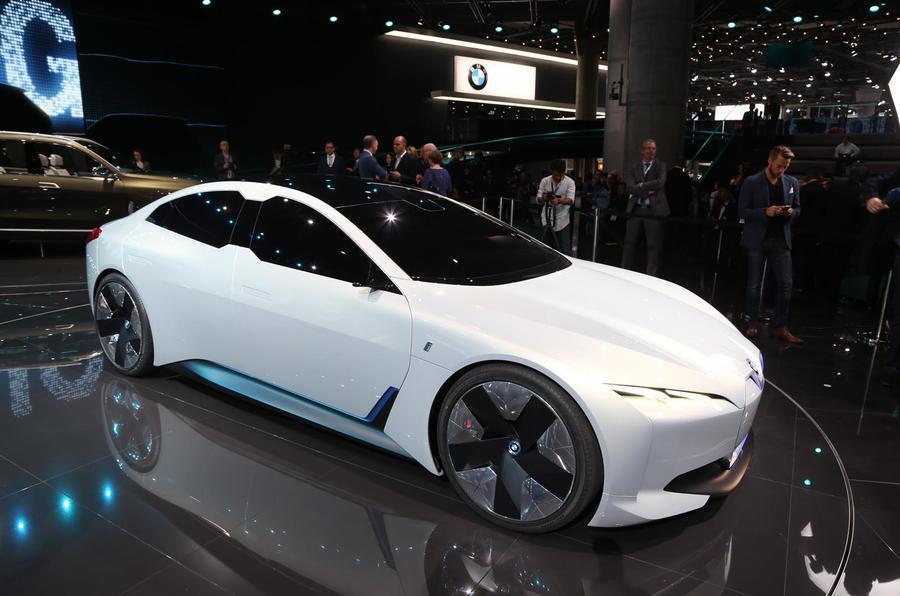 BMW i5 concept Frankfurt motor show