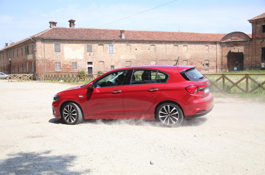 Off-roading in the Fiat Tipo