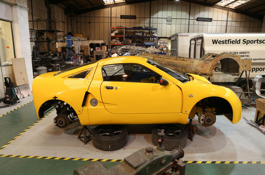 Westfield To Build New Midengined K Sports Car In Autocar - Sports cars 30000 range