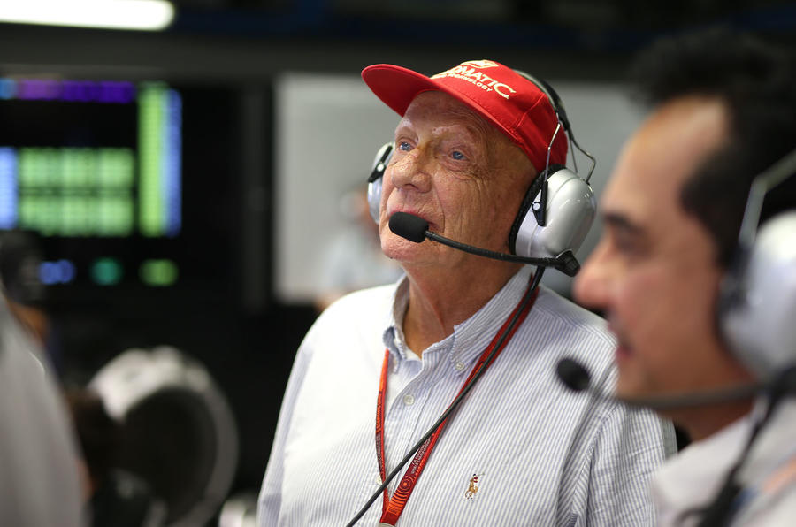 Why we miss Niki Lauda - headset