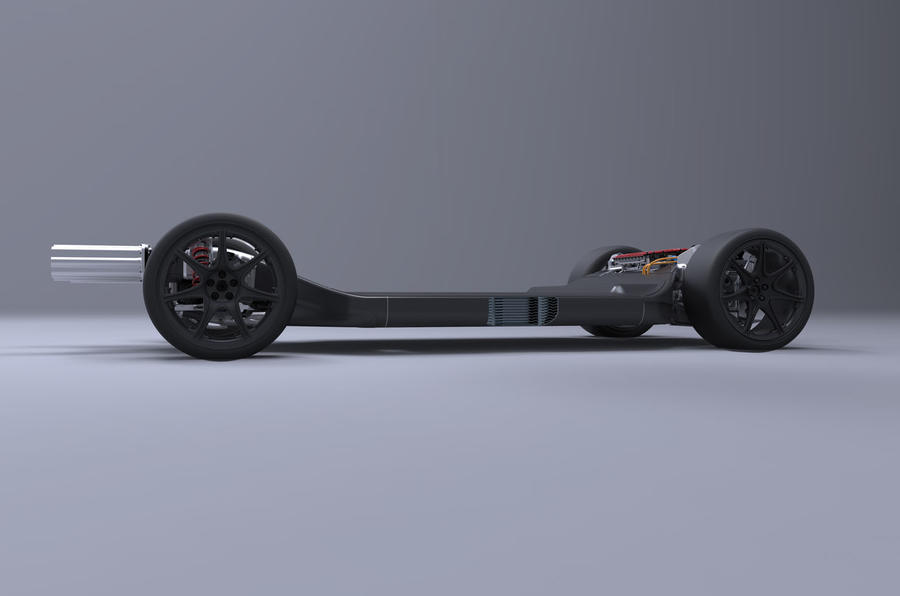 Williams Reveals Electric Vehicle Skateboard Chassis Autocar