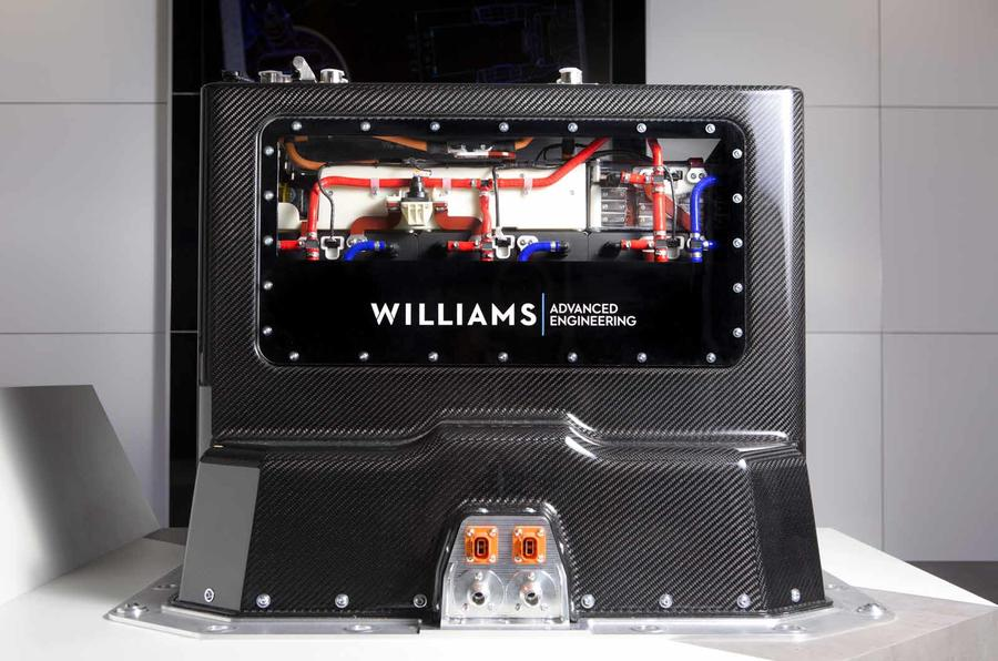 Best Ev Cars >> Williams reveals lighter yet longer-range EV battery module | Autocar