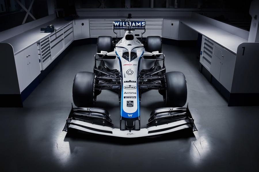 Williams F1 in garage