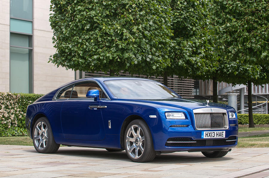 New models such as the Wraith helped to boost Rolls-Royce's sales