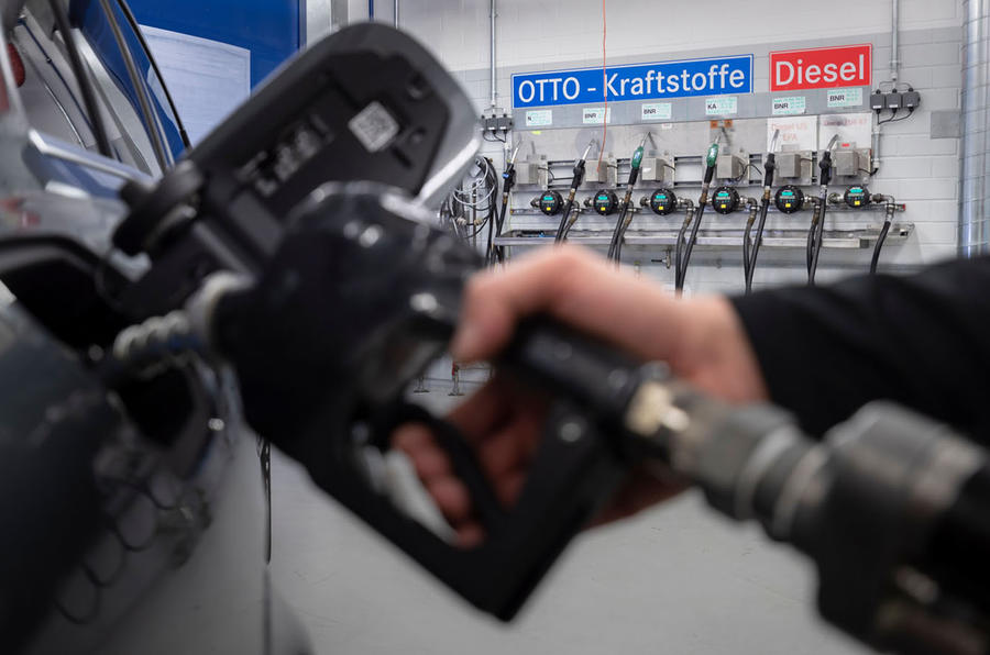 WLTP testing petrol