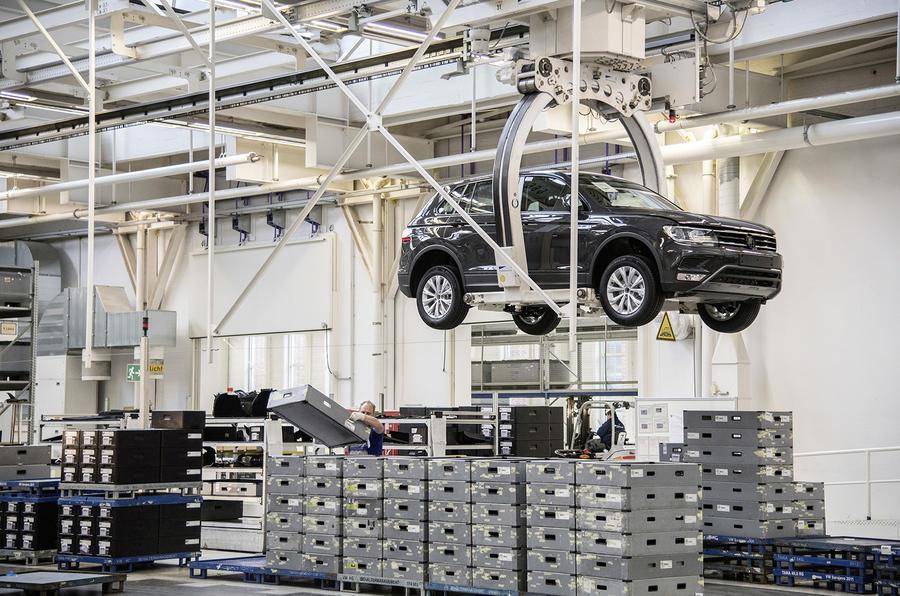 Volkswagen Tiguan production - Wolfsburg