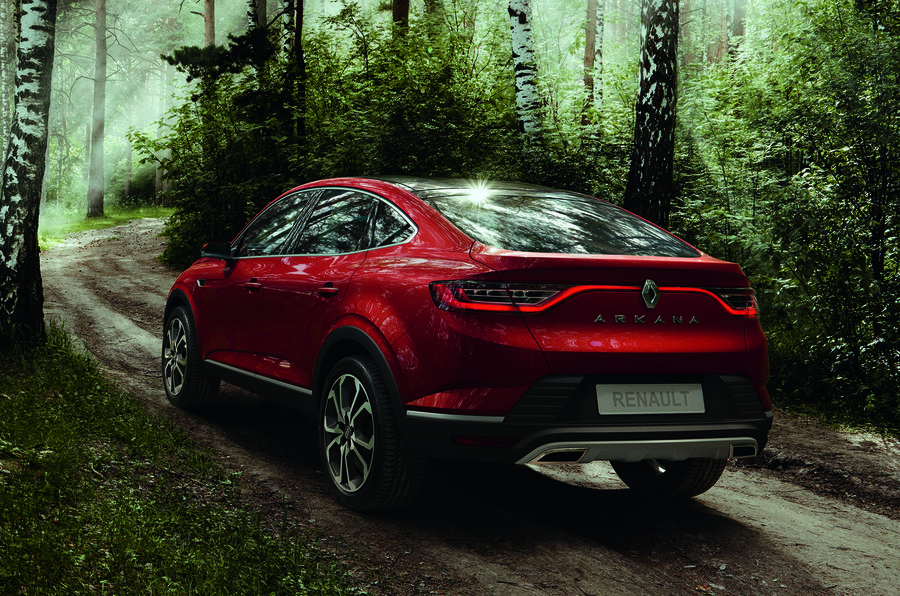 Renault launches Arkana coupe crossover at Moscow motor show