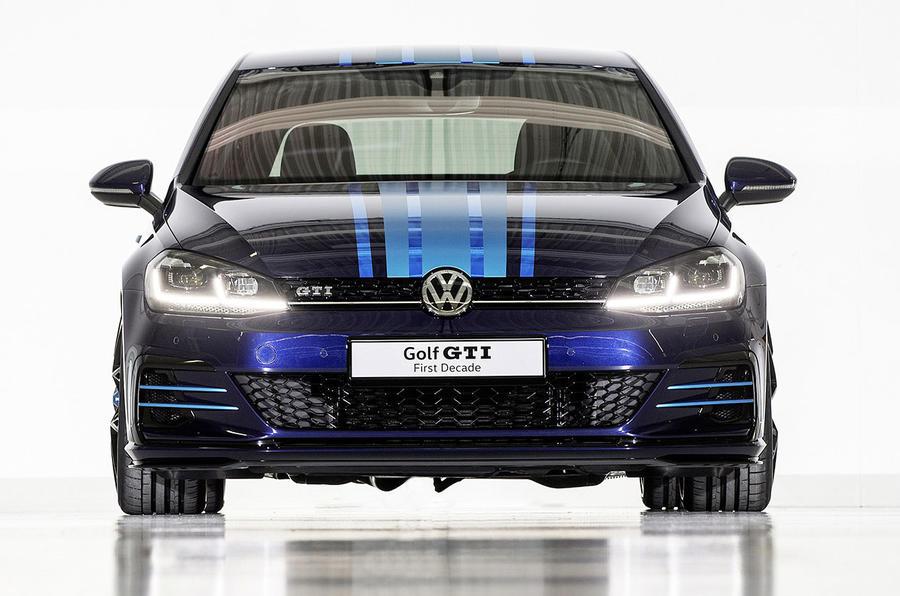 volkswagen reveals 396bhp hybrid golf gti concept autocar. Black Bedroom Furniture Sets. Home Design Ideas