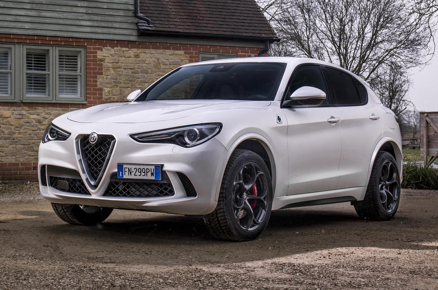alfa romeo stelvio quadrifoglio to start at 69 500 in britain autocar. Black Bedroom Furniture Sets. Home Design Ideas