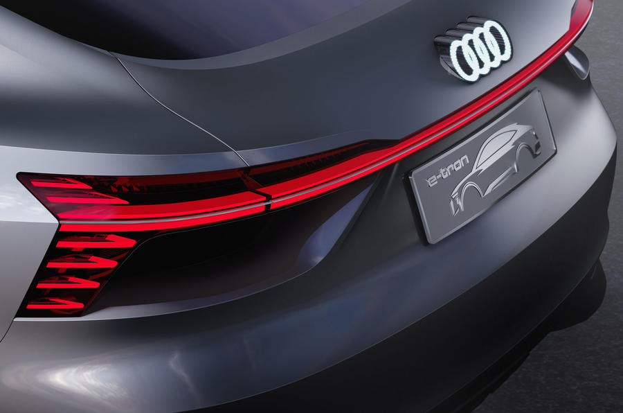 Audi teases new addition to e-tron range