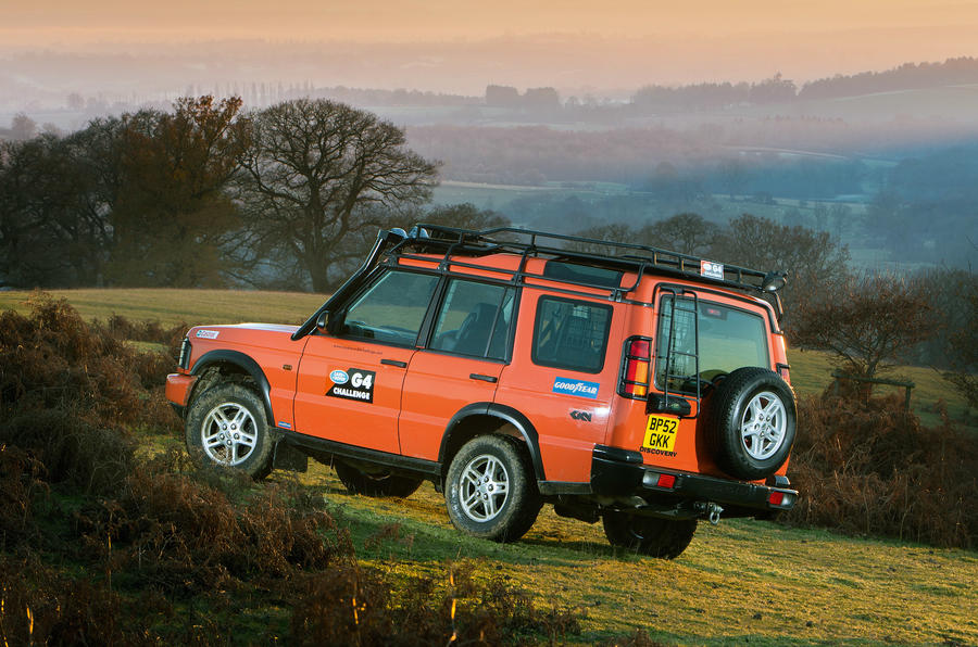 Land Rover Discovery 2 shot 2