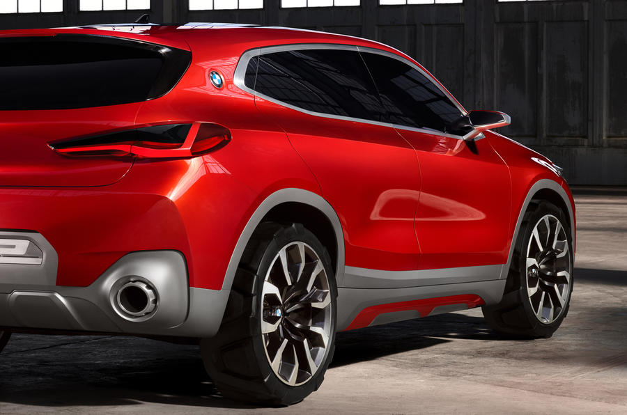 2018 bmw x2 previewed with paris motor show concept autocar. Black Bedroom Furniture Sets. Home Design Ideas
