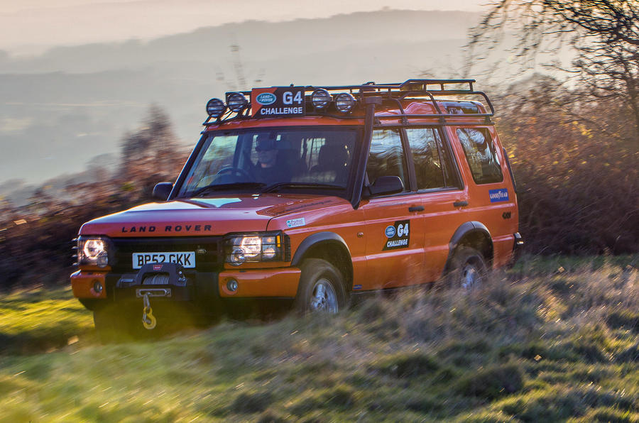 Land Rover Discovery 2 shot 4