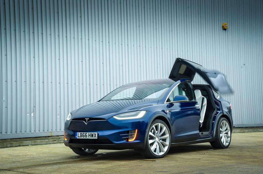 Tesla Model X airbag