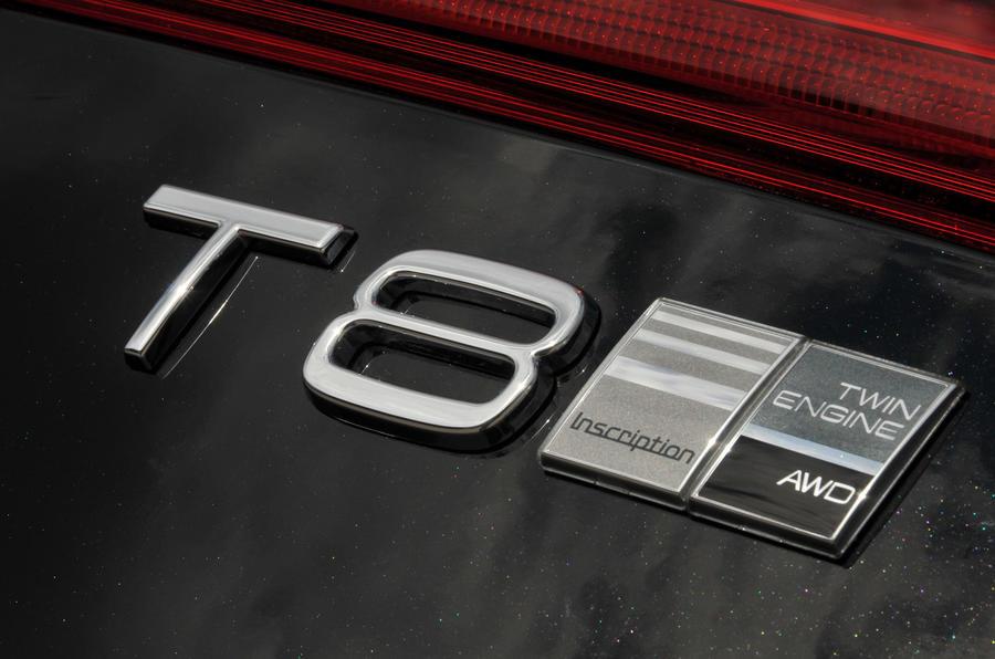 Volvo XC60 T8 exterior badging