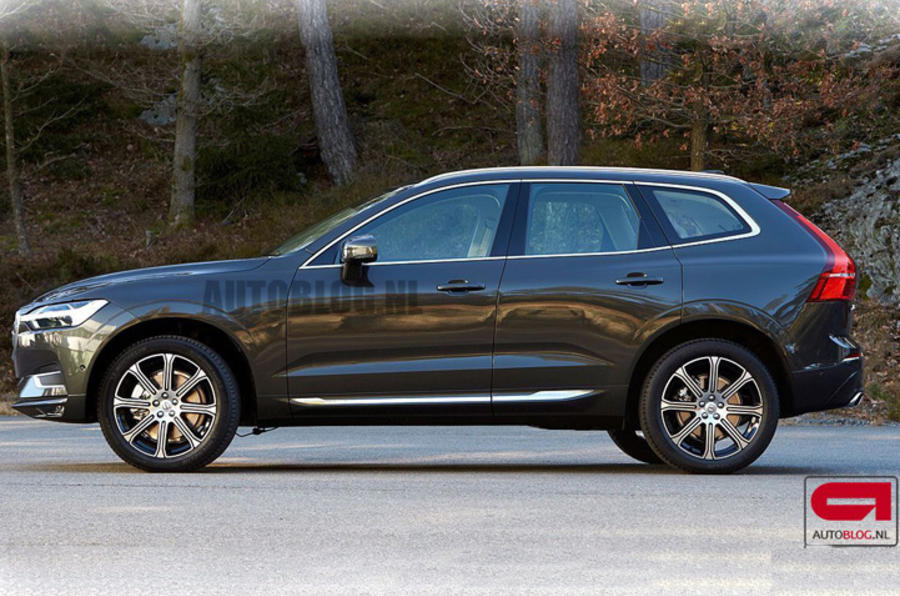 2017 Volvo XC60 picture leaked