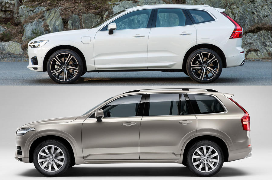 How does the Volvo XC60 differ from the XC90?   Autocar
