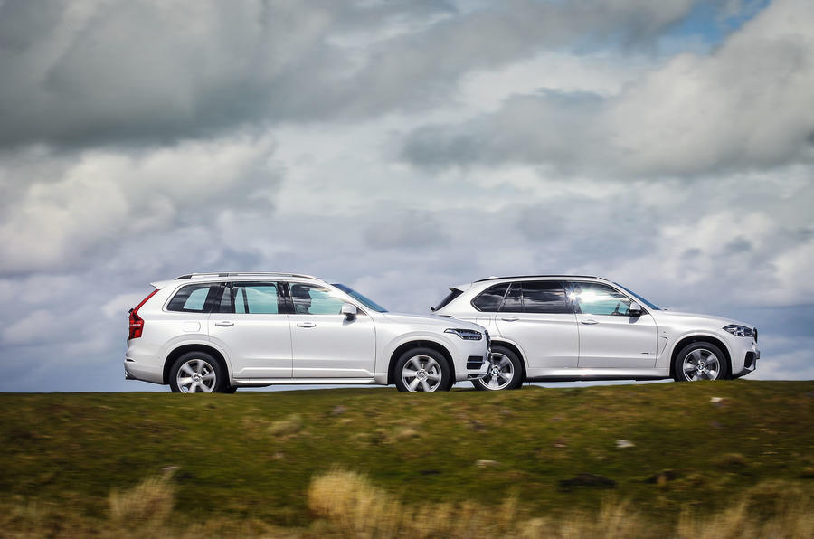 Volvo XC90 versus BMW X5 and Land Rover Discovery - comparison   Autocar