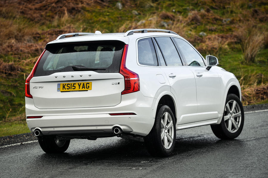 Volvo XC90 versus BMW X5 and Land Rover Discovery - comparison | Autocar