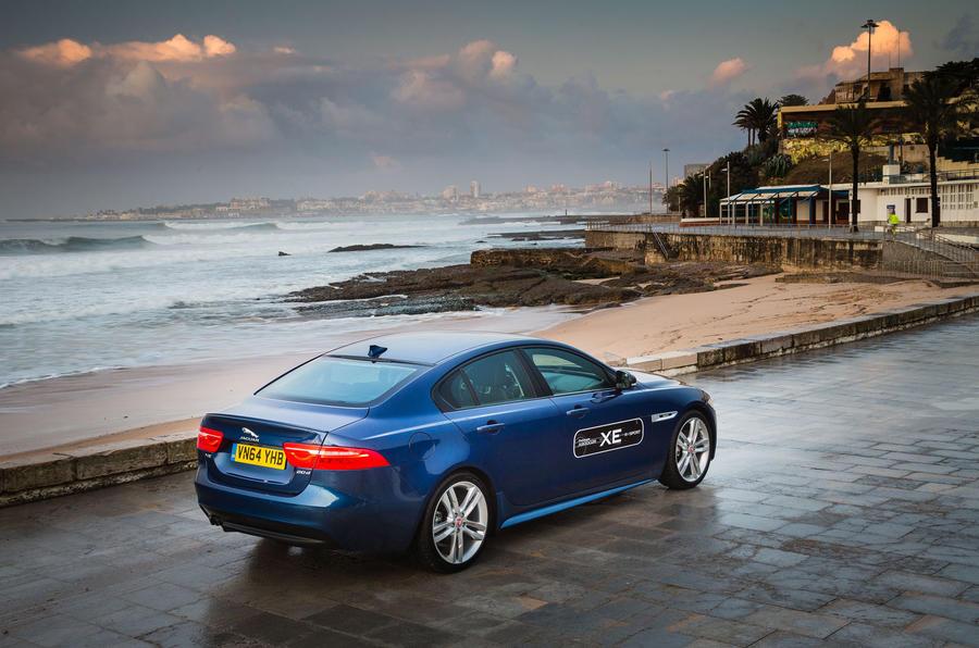 Jaguar XE R-Sport rear