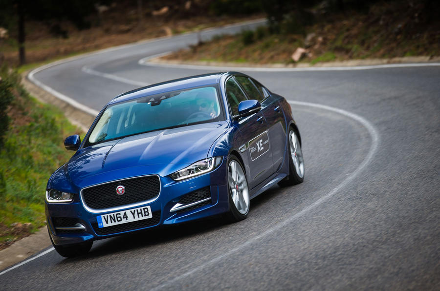 Jaguar XE R-Sport cornering