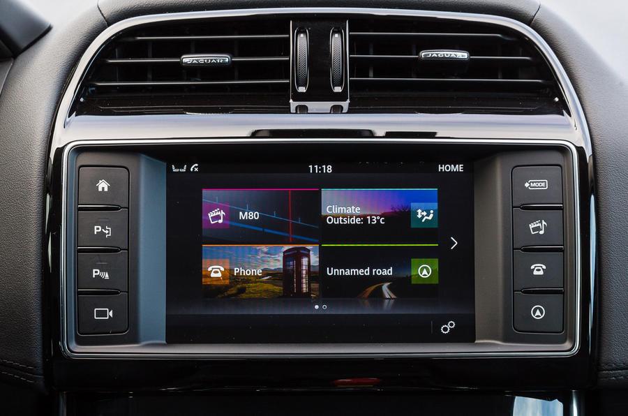 Jaguar InControl infotainment system