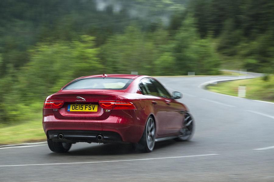 Jaguar XE S rear