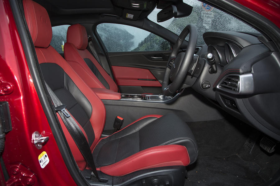 Jaguar XE S interior
