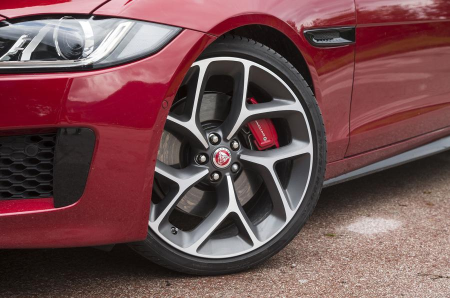 Jaguar XE S alloy wheels