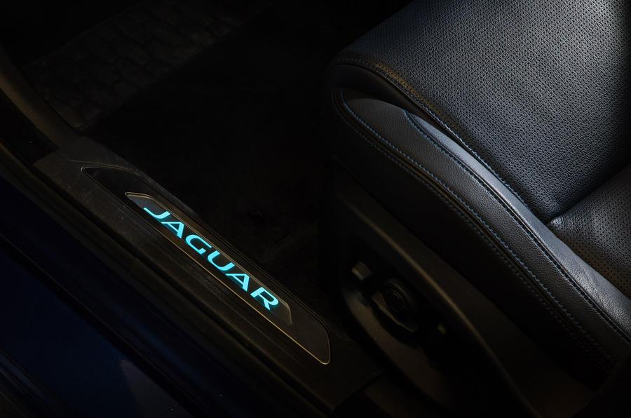 Jaguar XE Meridian speakers