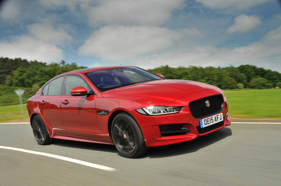Jaguar XE customer group tests launched