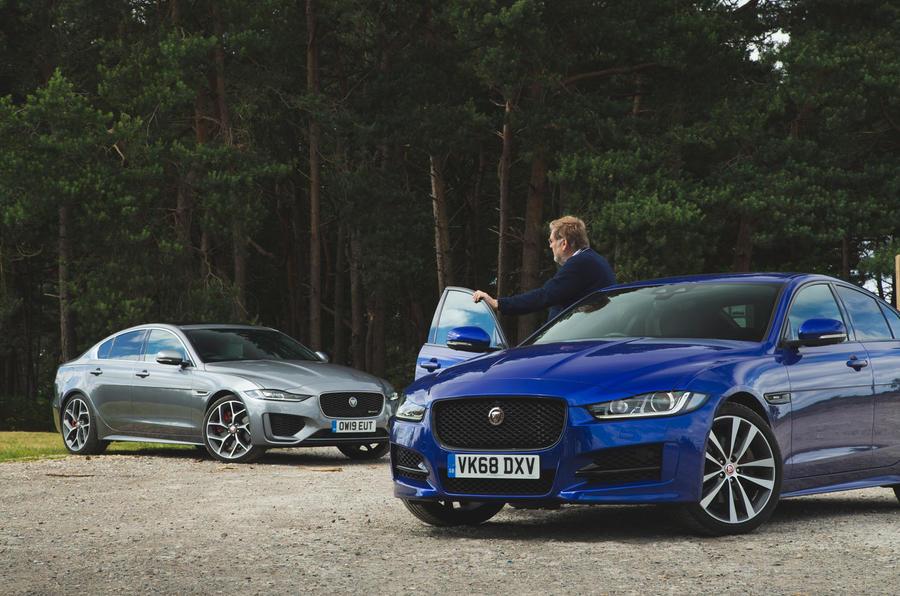 Jaguar XE pair