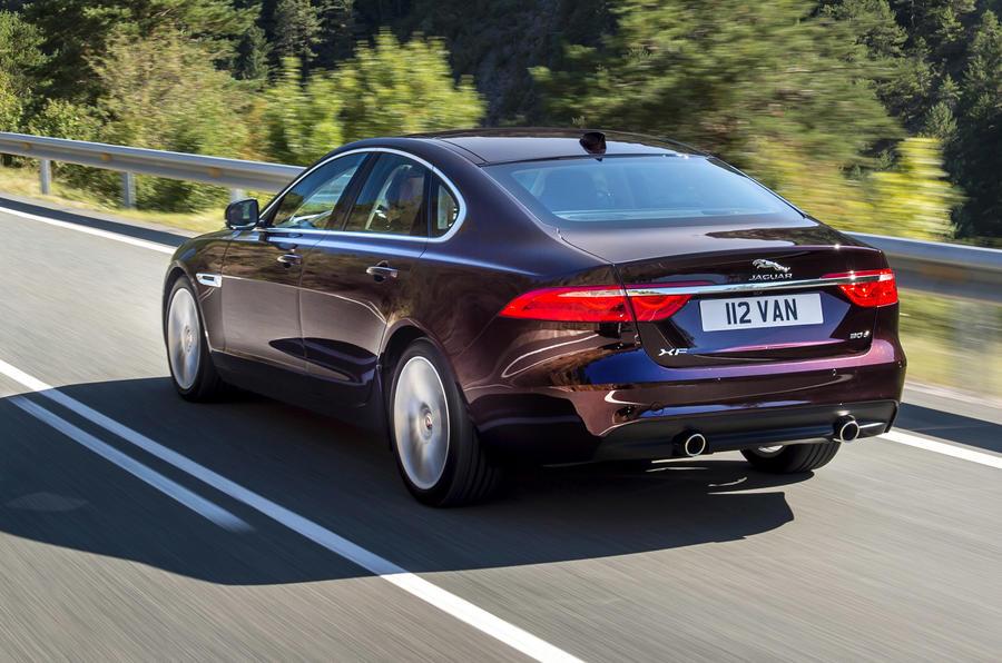 Jaguar XF TDV6 S rear