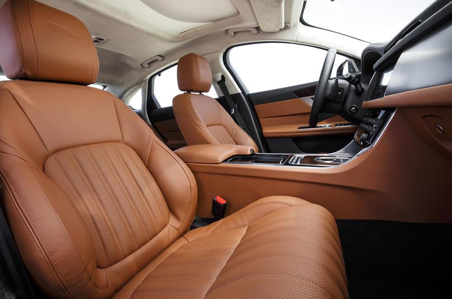Jaguar XF S front seats
