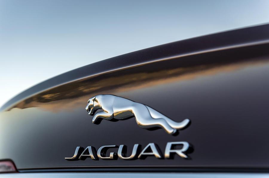 Jaguar badging