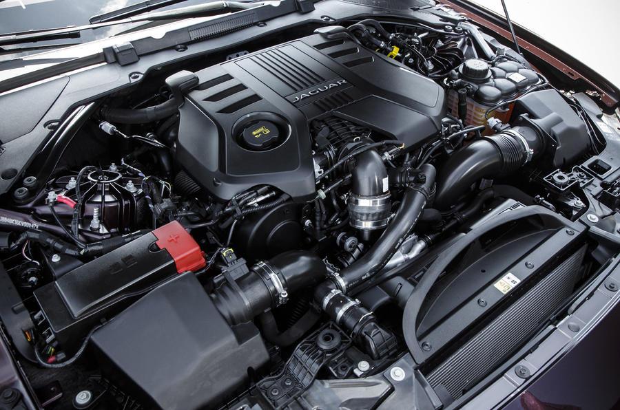 3.0-litre Jaguar XF diesel engine
