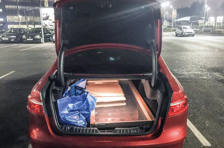 Jaguar XF long-term test review: can the boot handle an Ikea trip?