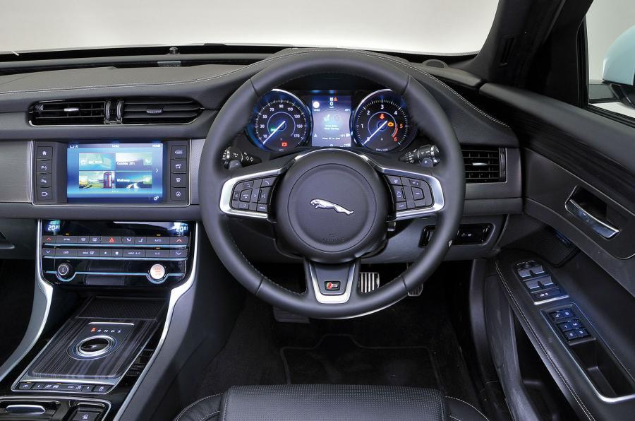 Jaguar XF S interior