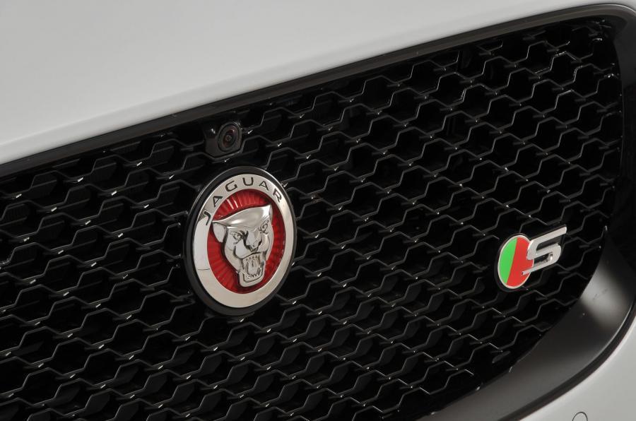 Jaguar XF S front grille