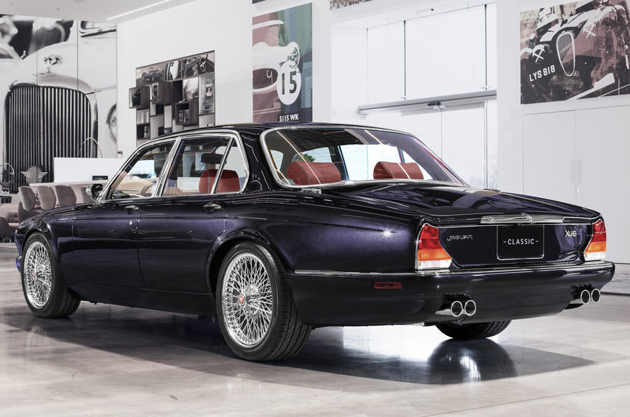 Bespoke Jaguar XJ6 created in run-up to model's 50th year