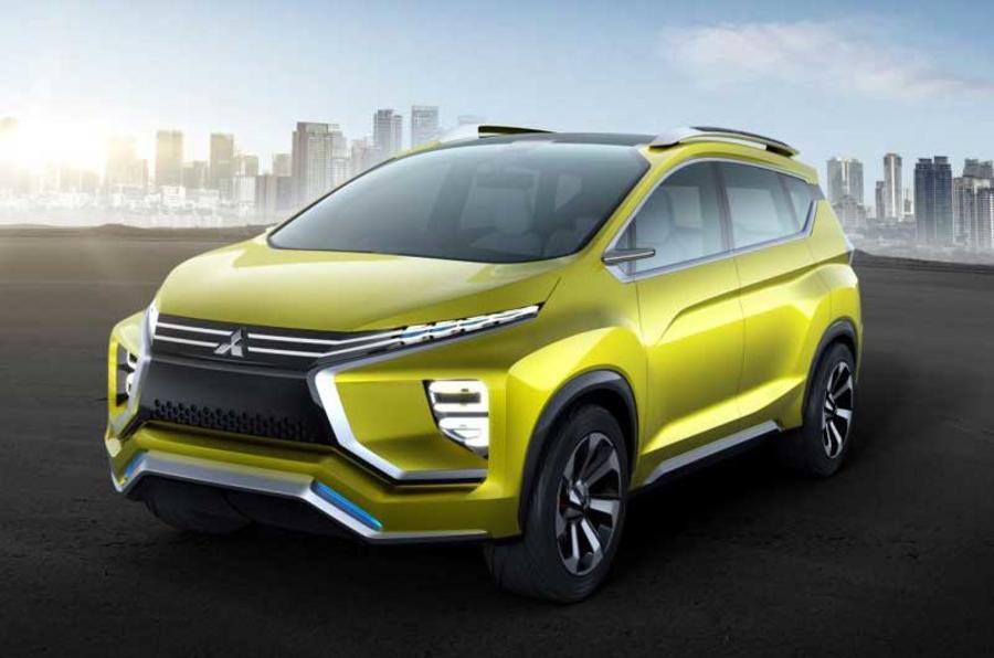 Mitsubishi XM concept previews 2017 crossover MPV | Autocar