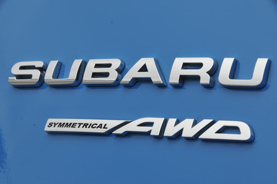 Subaru XV AWD badging