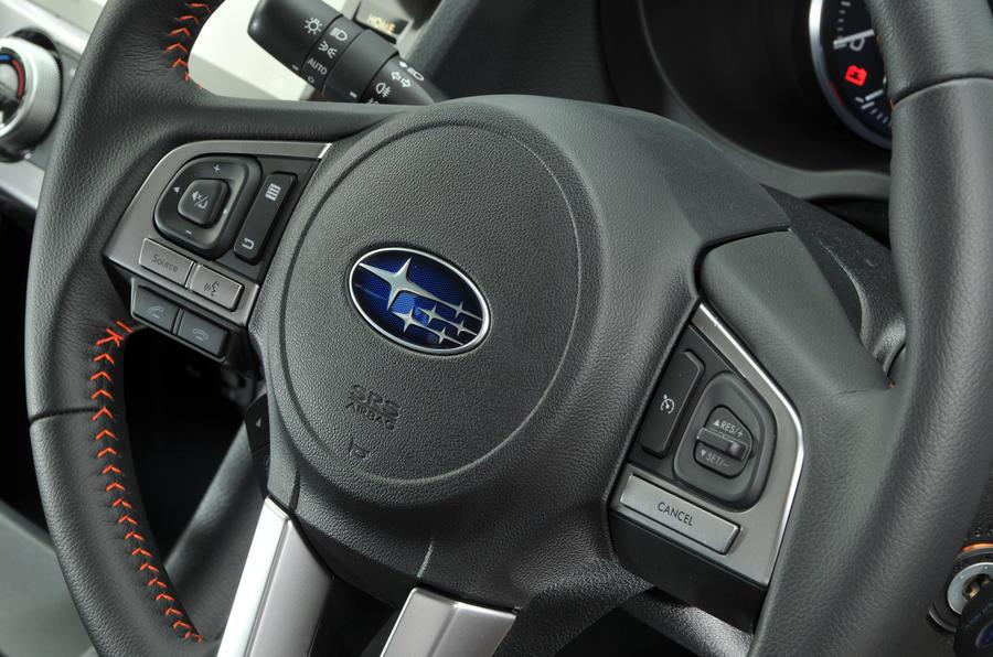Subaru XV steering wheel controls