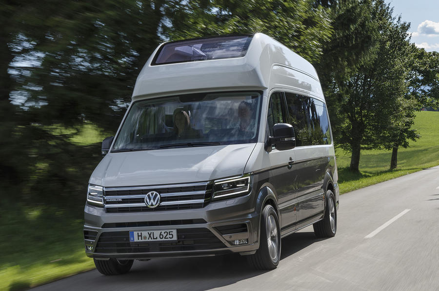 volkswagen grand california unveiled in production form autocar. Black Bedroom Furniture Sets. Home Design Ideas