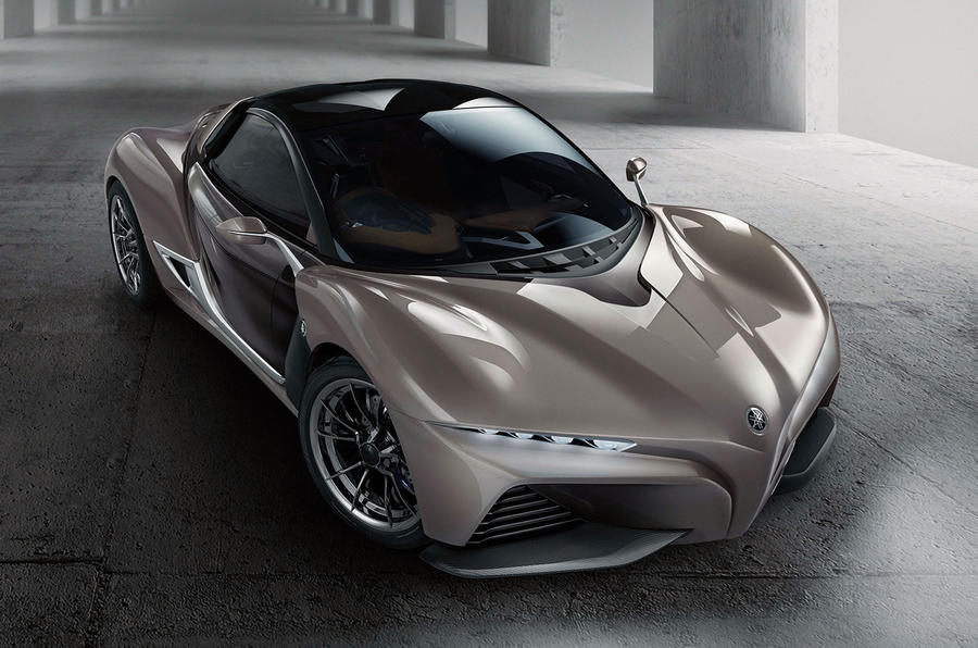 This Image Of A Yamaha Sports Car Was Shown At The. 2013 Tokyo Motor Show
