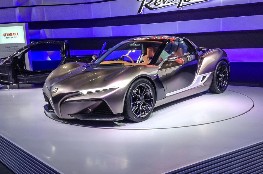 Yamaha Sports Car Revealed At Tokyo Motor Show Autocar - Sports car show
