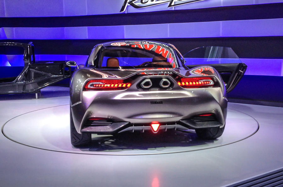 Yamaha sports car revealed at tokyo motor show autocar for Yamaha dealers in kentucky