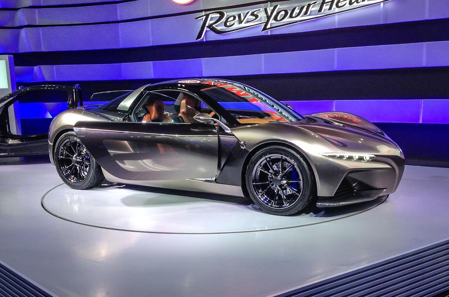 yamaha sports car revealed at tokyo motor show autocar. Black Bedroom Furniture Sets. Home Design Ideas