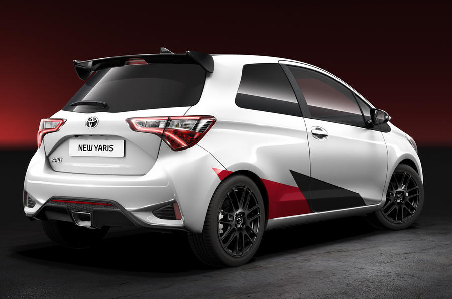 Toyota's high-performance Yaris revealed